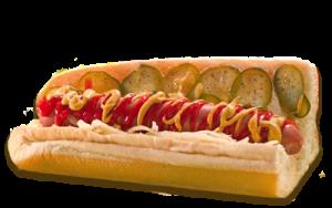 Essen bestellen: Hotdog Sandwich ohne Röstzwiebeln (warm)