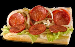 Essen bestellen: Sucuk Sandwich mit kräftig gewürzter Knoblauchwurst