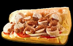 Essen bestellen: Weisswurst Sandwich mit original Händlmaier-Senf